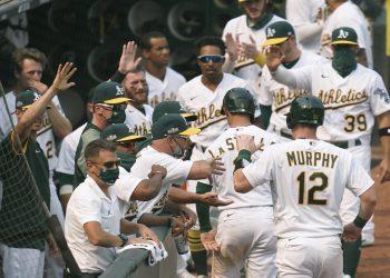 Oakland remontó contra los White Sox y eliminó al cuarteto cubano de Chicago. Foto: Tomada de ESPN