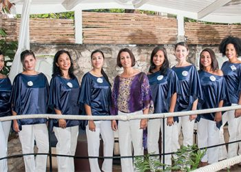 La agrupación vocal femenina Ensemble Vocal Luna. Foto: CubaPLUS Magazine.