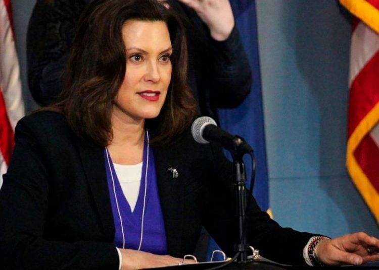 La gobernadora de Michigan, Gretchen Whitmer. Foto: ABC News.