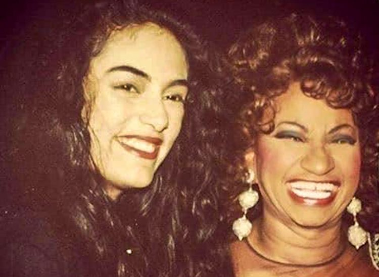 La India junto a Celia Cruz. Foto: @laindiaofficial/Twitter.
