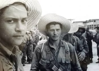 Milicias campesinas, 1960. Foto: Raúl Corrales.