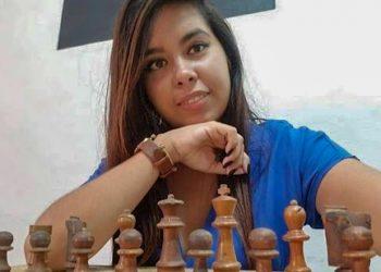 Rachel Palmero, medalla de bronce en el torneo individual del Panamericano Universitario Online. Foto: jit.cu