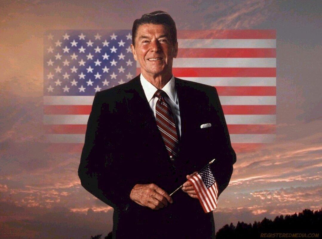 President Ronald Reagan. Photo: Medium.