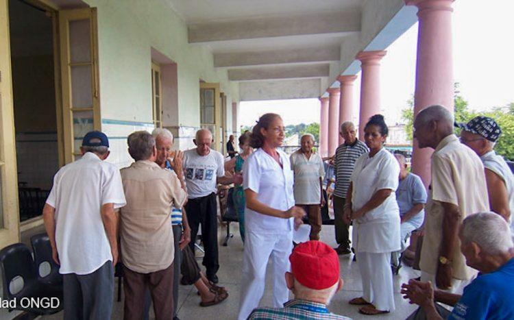 La Orden Hospitalaria de San Juan de Dios (OHSJD) cuenta con tres centros en Cuba, que prestan servicios en las áreas de la salud mental y la geriatría. Foto: juanciudad.org