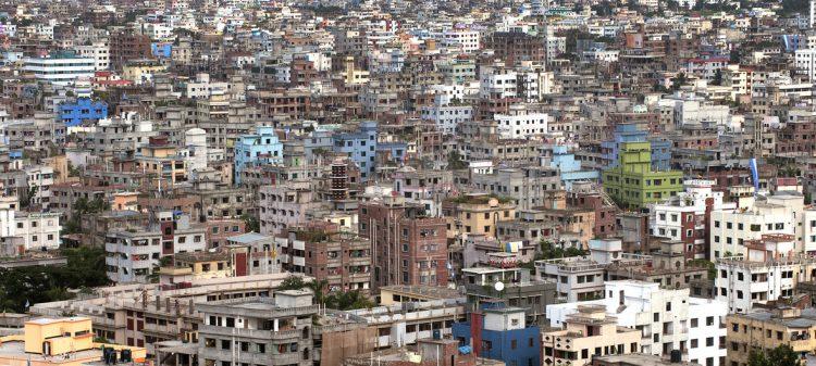 Vista de la ciudad de Dhaka, en Bangladesh. Foto: Kibae Park/ONU