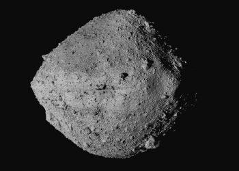El asteroide Bennu, fotografiado desde la sonda Osiris-Rex. Foto no fechada, suministrada por la NASA. Foto: Goddard/University of Arizona/CSA/vía AP.