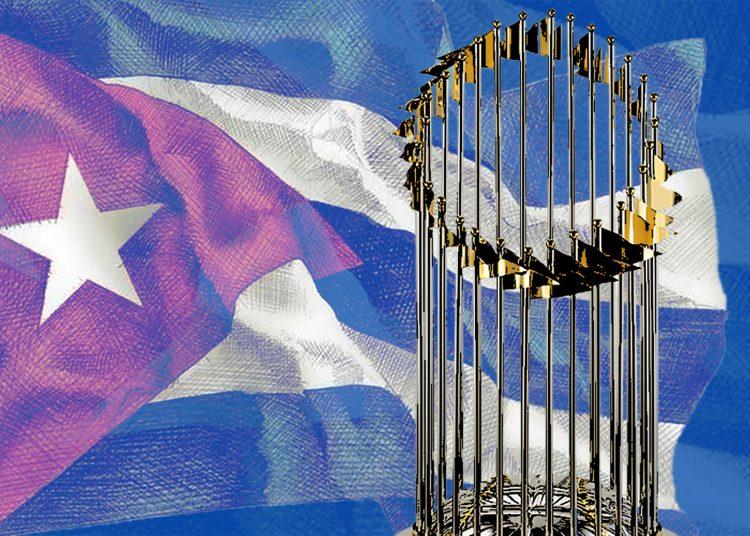Cuba abrió el camino para los países de Latinoamérica en la Serie Mundial. Fotomontaje: Dariagna Steyners.