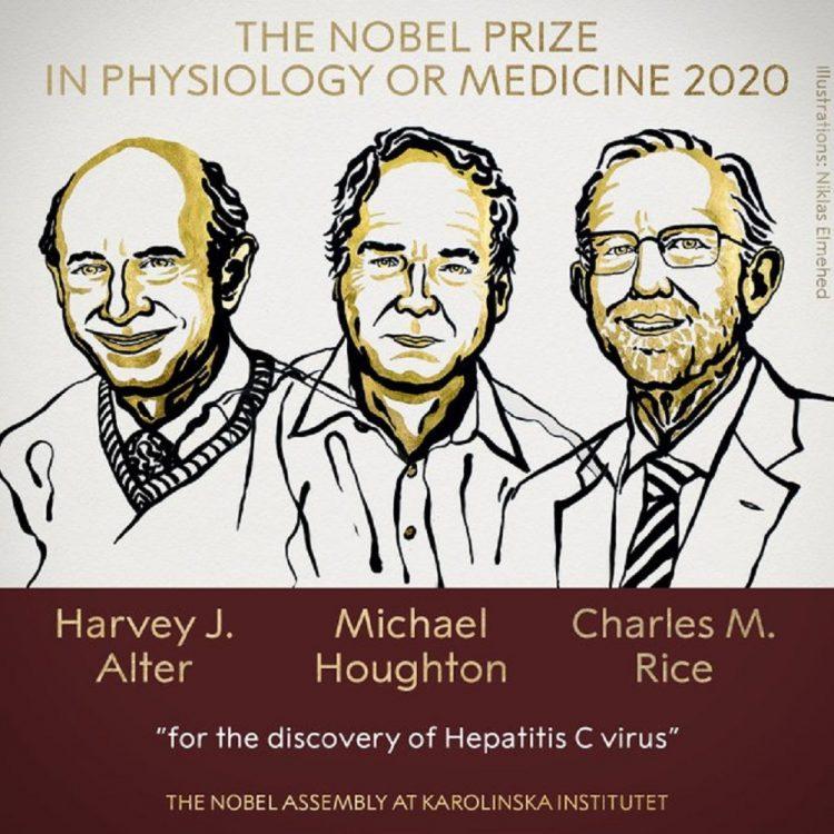 El prestigioso galardón va acompañado de una medalla de oro y un premio en metálico de 10 millones de coronas suecas (unos 1,118.000 dólares), cortesía de una concesión dejada hace 124 años por el creador del premio, el inventor sueco Alfred Nobel. Imagen: twitter.com/NobelPrize
