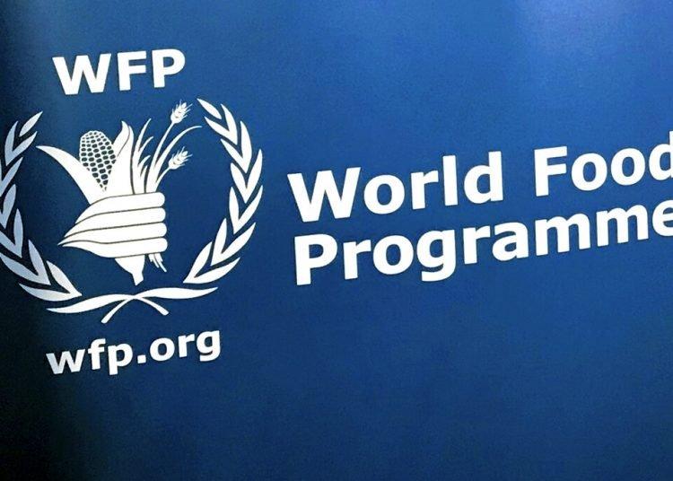 En esta imagen de archivo, tomada el 6 de noviembre de 2017, el logo del Programa Mundial de Alimentos visto en la sede de la agencia de Naciones Unidas en Nueva York. Foto: Robert Bumstead/ AP/archivo.