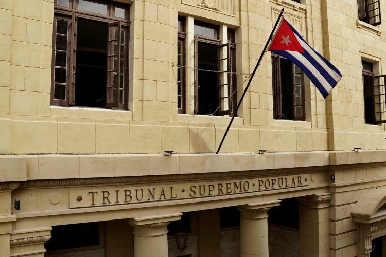 Tribunal Supremo Popular de Cuba. Foto: Perfil de Facebook de la institución.