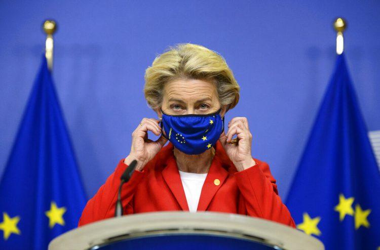 La presidenta de la Comisión Europea, Ursula von der Leyen. Foto: Johanna Geron/AP/Archivo.