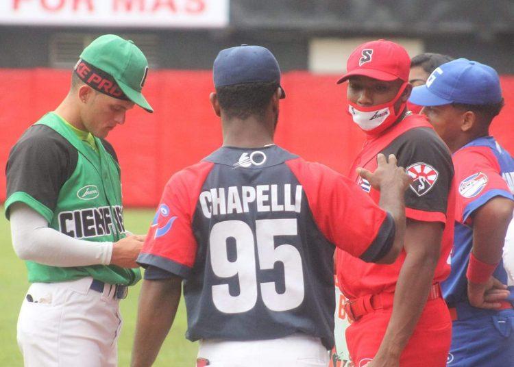 Las promesas del béisbol cubano se llevaron esta peculiar edición del Juego de Estrellas. Foto: Tomada del Facebook de Boris Luis Cabrera.
