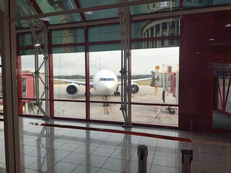 El Aeropuerto Internacional José Martí, de La Habana. Foto: Mónica Rivero / Archivo.