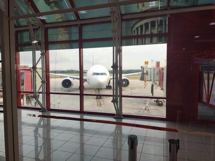 El Aeropuerto Internacional José Martí, de La Habana. Foto: Mónica Rivero.