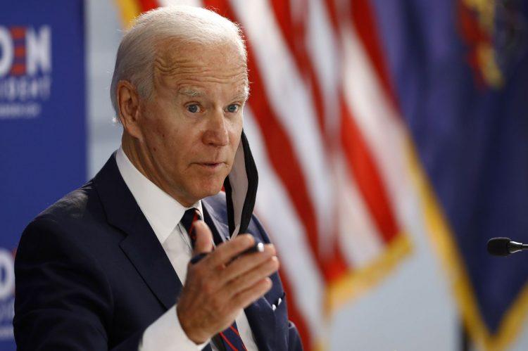 Joe Biden se impone en encuestas. Foto: Philadelphia Inquirer.