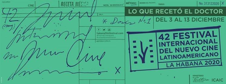 Cartel de la edición 42 del Festival de Cine de La Habana.