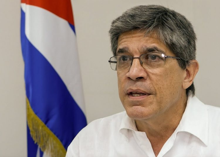 El Director General para Estados Unidos del Ministerio de Relaciones Exteriores (Minrex), Carlos Fernández de Cossío. Foto: CMP.