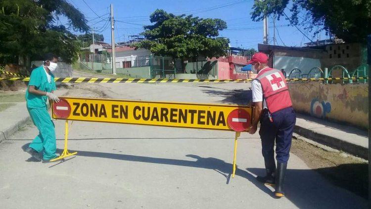 En la zona de Altamira, en Santiago de Cuba, se estableció una cuarentena, luego de 180 días sin casos positivos en la COVID-19 en la provincia. Foto: perfil de Facebook de Betty Beatón.