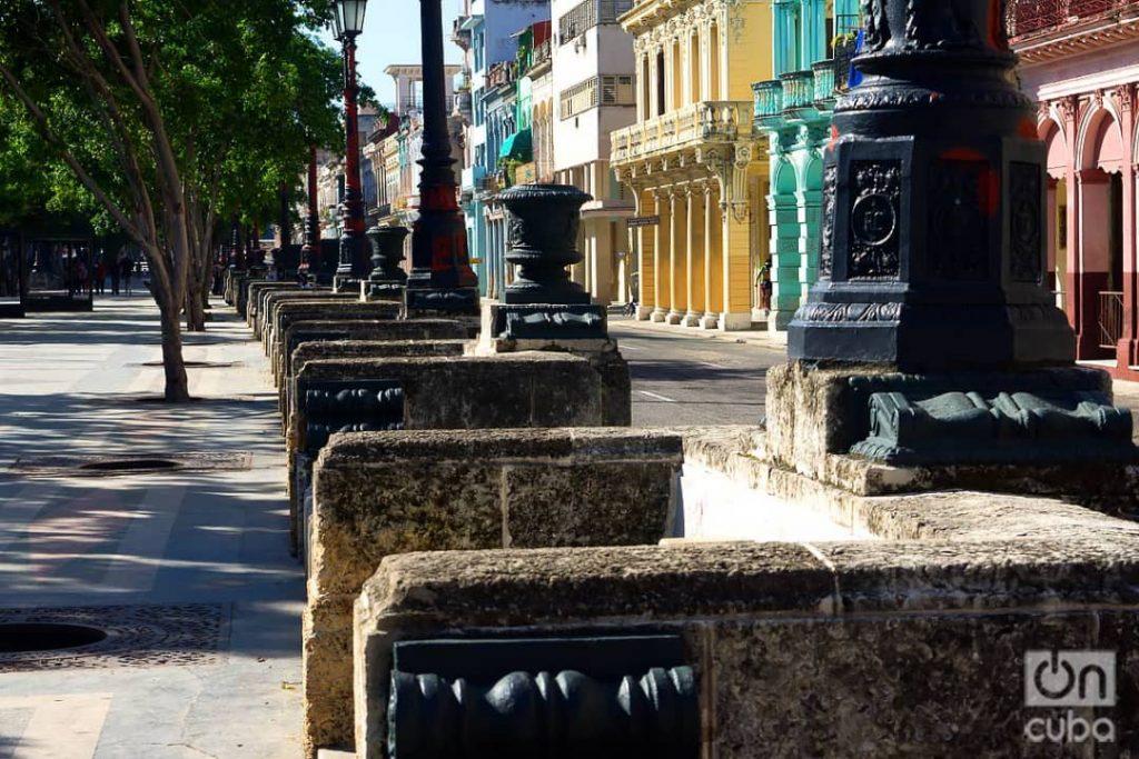 Paseo del Prado de La Habana. Foto: Otmaro Rodríguez.