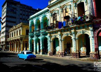 Vista del entorno del Prado de La Habana. Foto: Otmaro Rodríguez.
