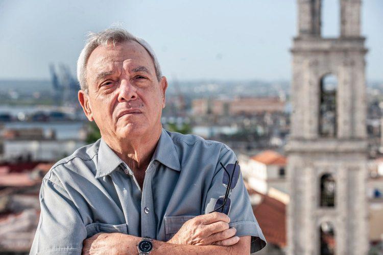 Eusebio Leal. Foto: Héctor Garrido.