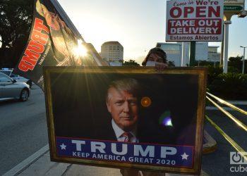 Miami, el día de elecciones en Estados Unidos, 2020. Foto: Marita Pérez.