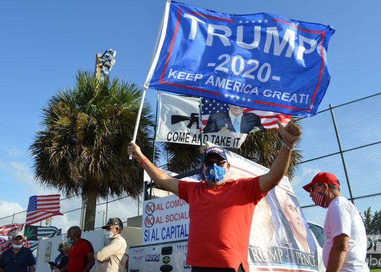 Día de elecciones 2020 en Miami. Foto: Marita Pérez.