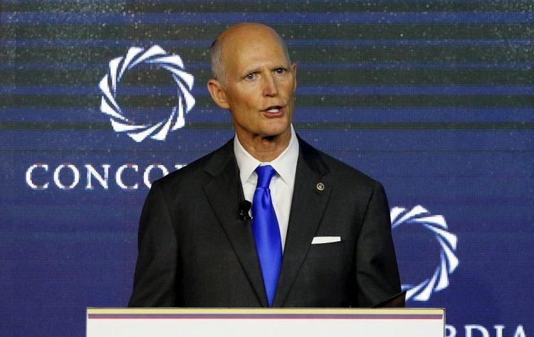 El senador estadounidense Rick Scott, exgobernador de la Florida y aliado del presidente Donald Trump. Foto: Leonardo Muñoz / EFE / Archivo.