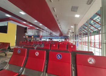Imagen del Aeropuerto de La Habana, esta semana. Foto: Mónica Rivero.
