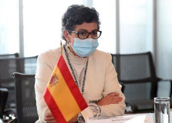La ministra de Asuntos Exteriores de España, Arancha González. Foto: Mario Guzmán / EFE / Archivo.
