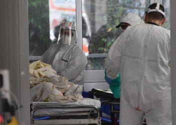 Entre las principales preocupaciones está la del colapso de los centros sanitarios. Foto: LUCA ZENNARO/ EFE/EPA.