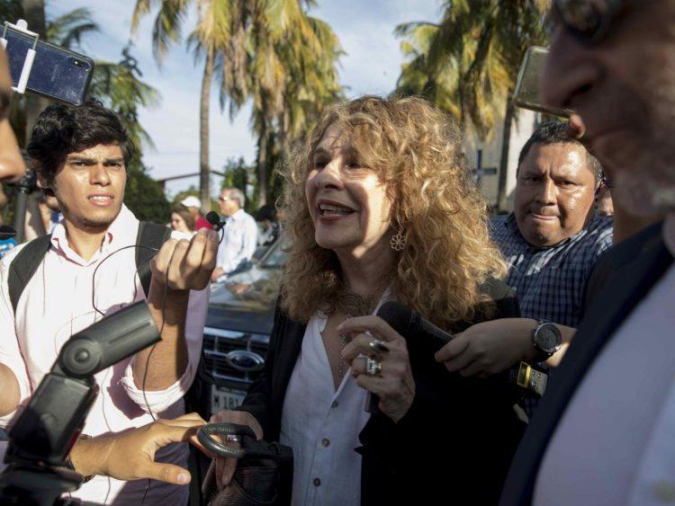 La escritora nicaragüense Gioconda Belli. Foto: Jorge Torres/Archivo/EFE.