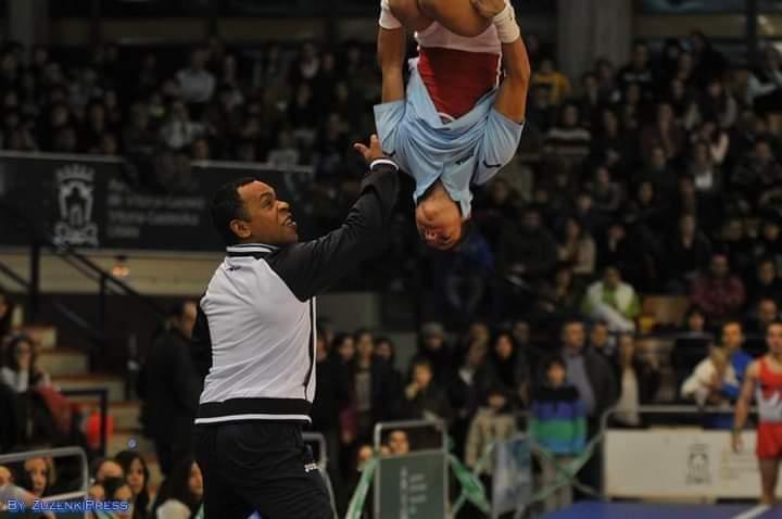 Israel Sánchez se ha enfocado en el trabajo con nuevas generaciones de gimnastas en España. Foto: corrtesía del entrevistado.