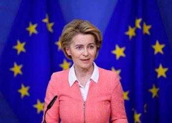 La presidenta de la Comisión Europea (CE), Ursula von der Leyen. Foto: grenzecho.net / Archivo.
