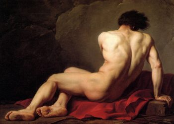 'Patroclo' (1780), óleo de Jacques-Louis David