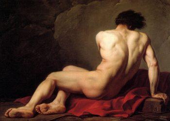 'Patroclo' (1780), óleo de Jacques-Louis David