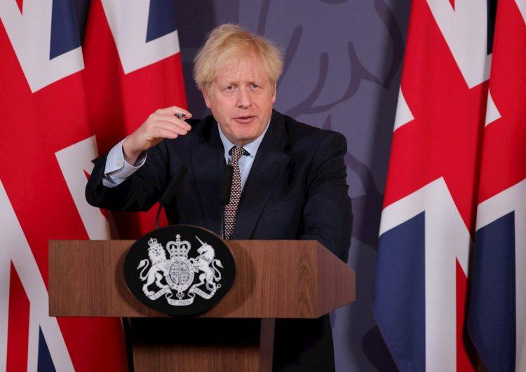El primer ministro del Reino Unido, Boris Johnson. Foto: Pippa Fowles / EFE / No10 Downing Street.