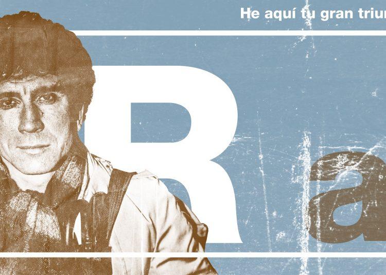 Cartel realizado especialmente para este texto por su autor, el diseñador Roberto Raez, de Ediciones La Luz.