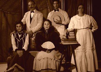 """Actores de la obra """"Bayamesa"""", del dramaturgo cubano Abel González Melo. Foto: cubaescena.cult.cu"""