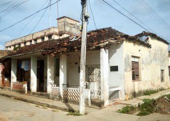 Casa natal de María Teresa Vera, en Guanajay. Foto: Jesús Manuel Reyes.