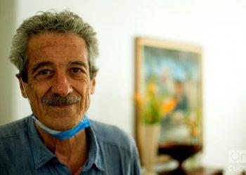 Fernando Pérez, Premio Nacional de Cine (2007). Foto: Otmaro Rodríguez.