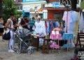 Punto de venta particular de ropas y canastilla en La Habana. Foto: Otmaro Rodríguez.