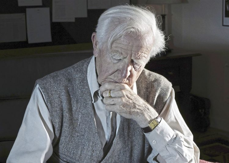John Le Carré. Foto: Pittsburgh Pos-Gazette.
