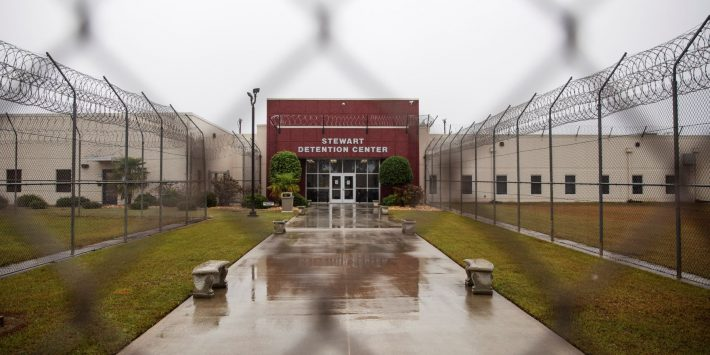 Stewart Detention Center, Georgia. Photo: internet.