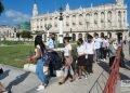 Honras fúnebres del Historiador de La Habana, Eusebio Leal, en el Capitolio Nacional, el 17 de diciembre de 2020. Foto: Otmaro Rodríguez.