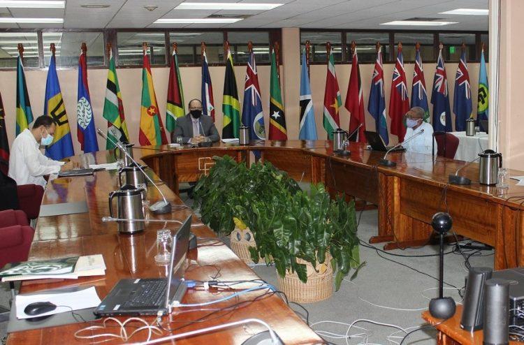Irwin LaRocque  encabeza la séptima Cumbre CARICOM-Cuba. Foto: twitter.com/caricomorg