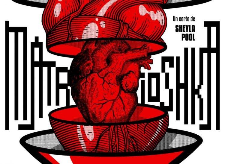 El cartel Matrioshka, de Edel Rodríguez (Mola), realizado para el cortometraje de la realizadora Sheyla Poo se alzó con el Coral en su categoría. Foto: Cubacine.