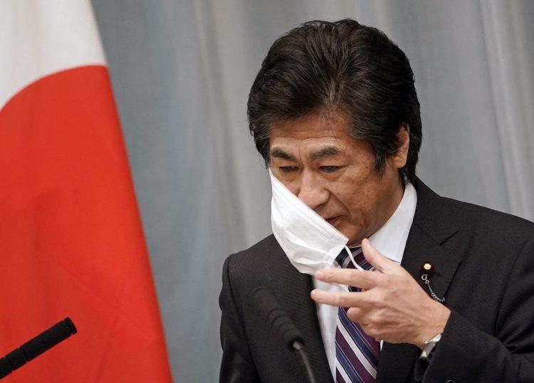 El ministro de Salud de Japón, Norihisa Tamura. Foto: Franck Robichon / EFE / Archivo.