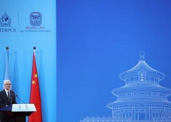 El secretario general de la Interpol Jurgen Stock. LINTAO ZHANG/EFE/Archivo.
