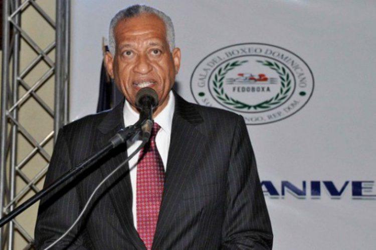 El dominicano Bienvenido Solano, candidato apoyado por Cuba para dirigir la Asociación Internacional de Boxeo (AIBA). Foto: diariolibre.com / Archivo.